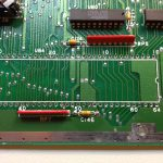 Atari 1040STFM #1 CPU desoldered