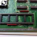 Atari 1040STFM #1 CPU socket populated