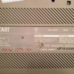 Atari 1040STFM #2 Bottom Label