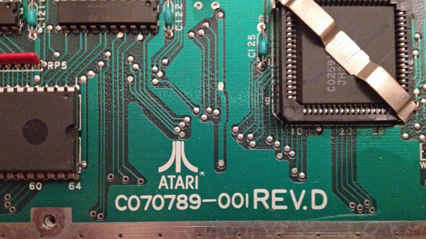 Atari 1040STFM #2 Board Rev
