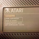 Atari 1040STFM #3 Label