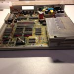 Atari Mega ST2 open