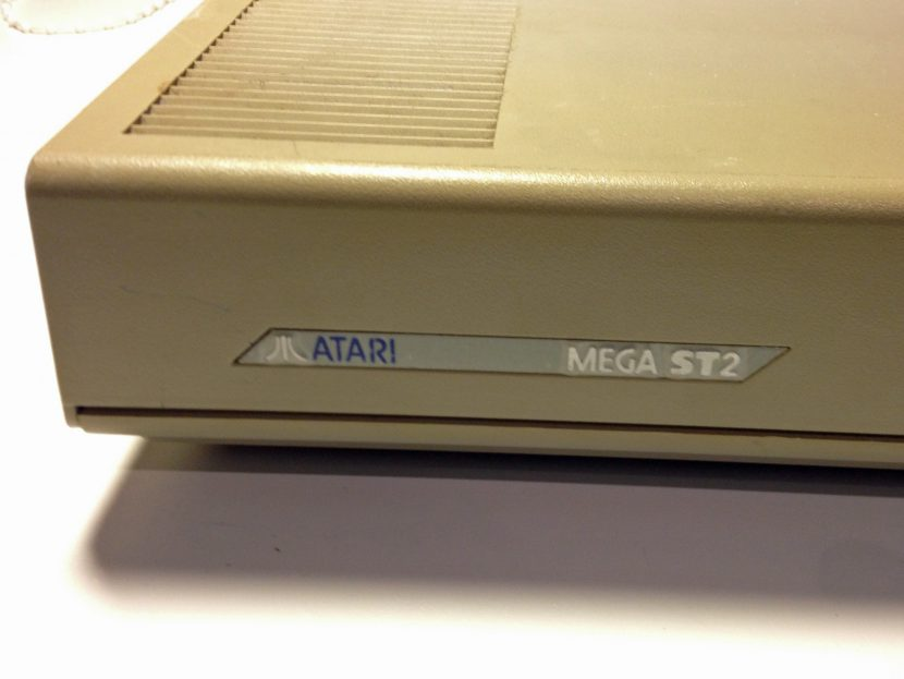 Atari Mega ST2 Label